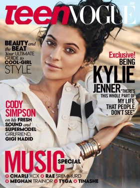 Kylie Jenner cover Teen VOGUE.